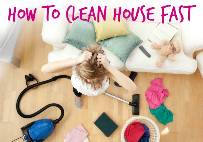 Check list for cleaning house