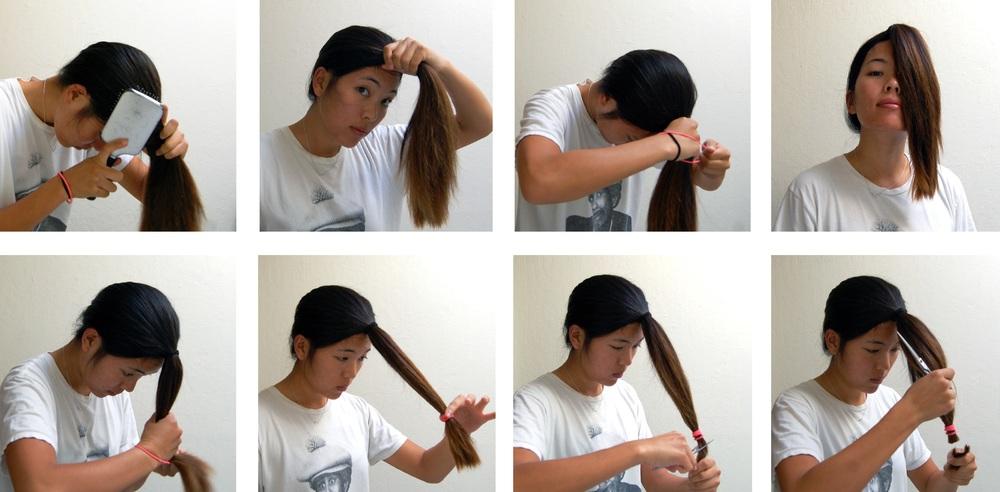 Как подстричь кончики самому