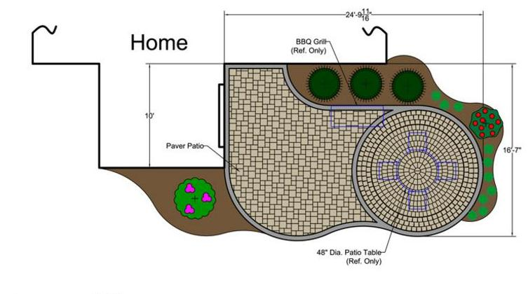 Patio Plan