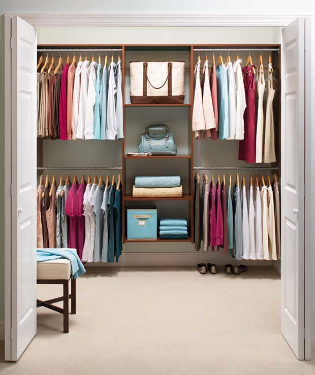 small organized closet. 11 tips for organizing your closets  How organize closets
