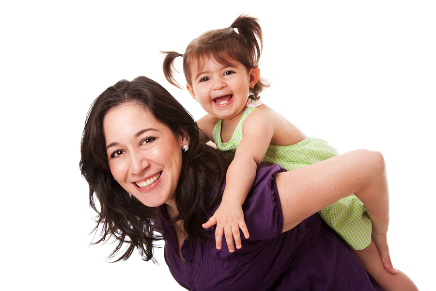 little girl on nannys back - Nanny Interview Questions For A Nanny How To Interview Nannies