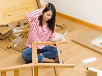 Flat-pack furniture assembly tips