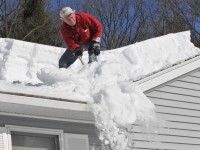 How to remove snow from the roof and the car