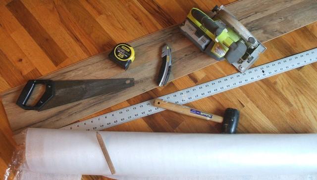 11 Steps How to Install Laminate Flooring : HireRush Blog