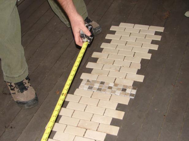 testing tile pattern