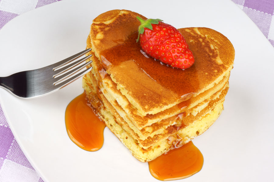 heart-shaped-pancakes-with-syrup