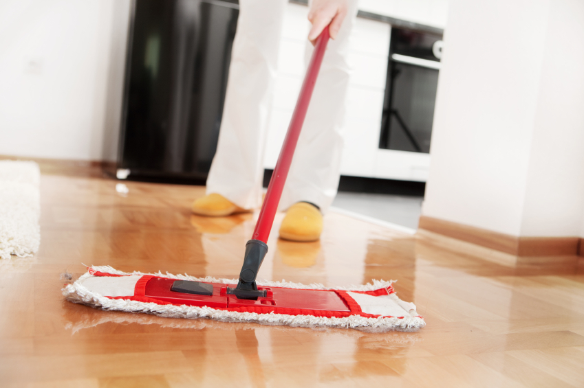 Best Way To Disinfect Hardwood Floors Part - 28: ... Hardwood Floor Cleaning With A Mop