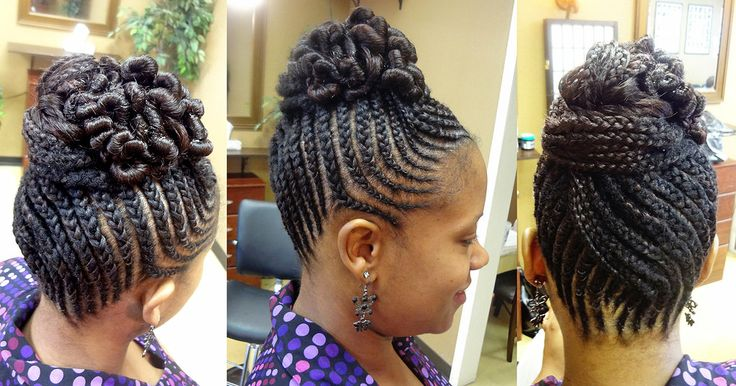 Admirable How To Do African American Braided Updos Braids Hairstyles For Women Draintrainus