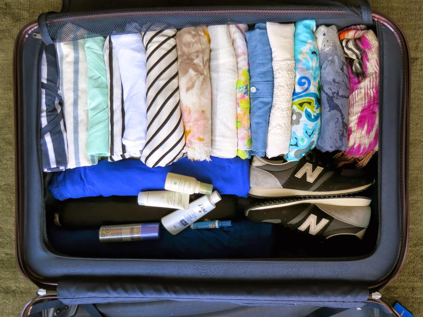 Koffer Packen Reihenfolge