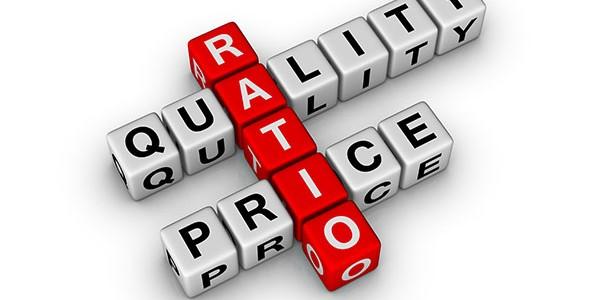 price and quality ratio
