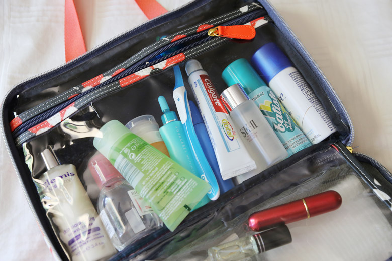 video of how to pack a suitcase for two weeks