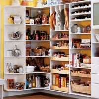 organized kitchne pantry