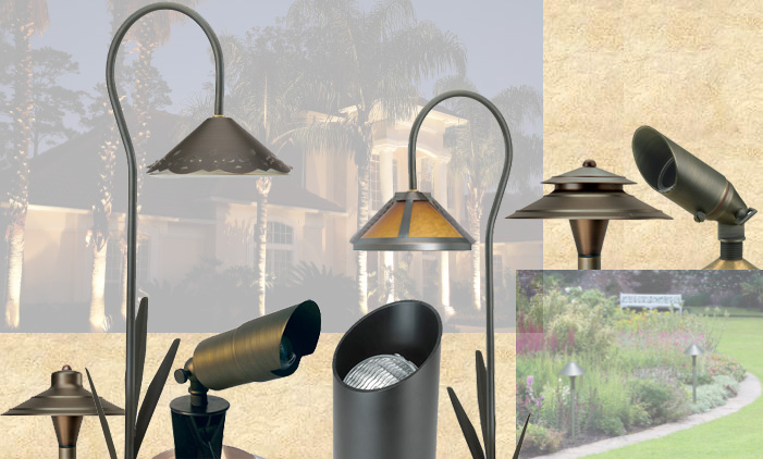 different lowvoltage landscape lights