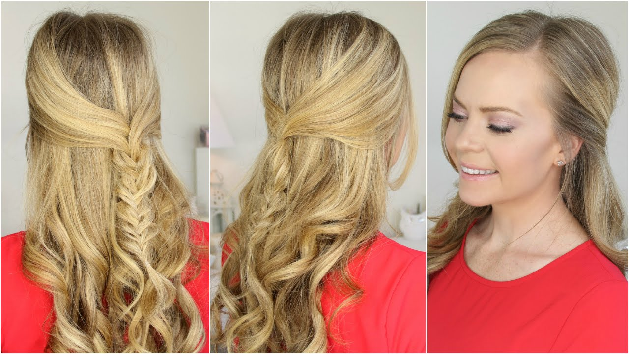 7 Cute Easy Diy Prom Hairstyles Hirerush