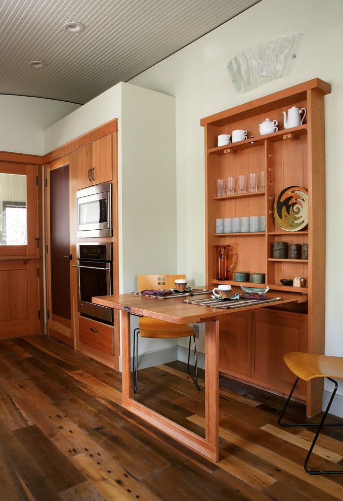 drop down dining table with storage for small kitchen