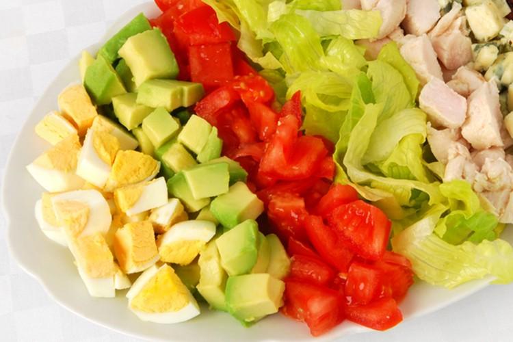 clean eating food plate