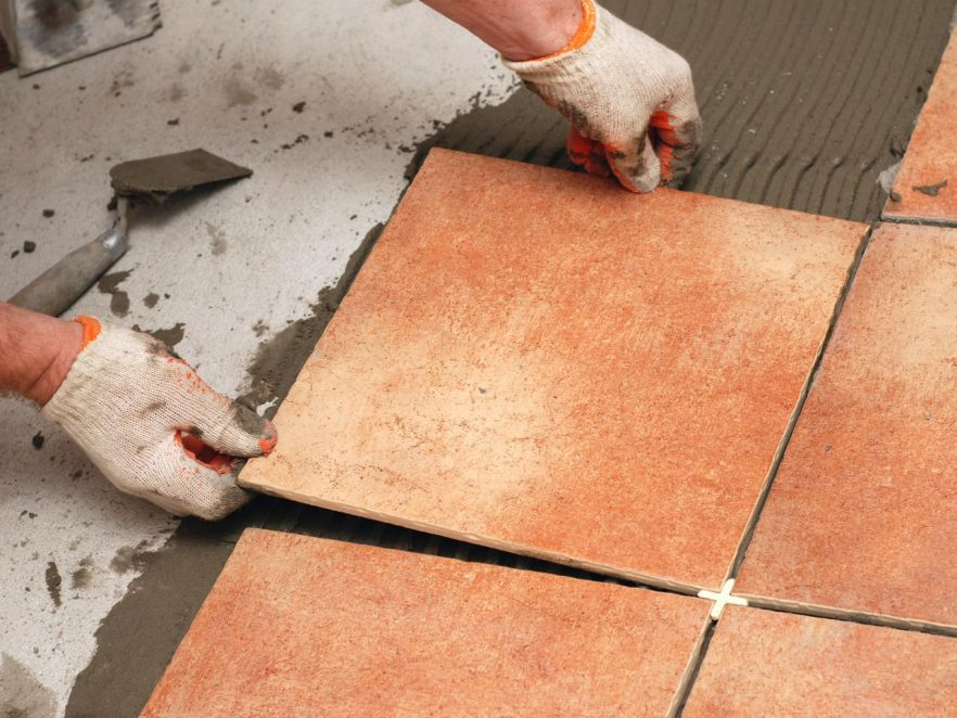How To Tile The Floor Hirerush Blog