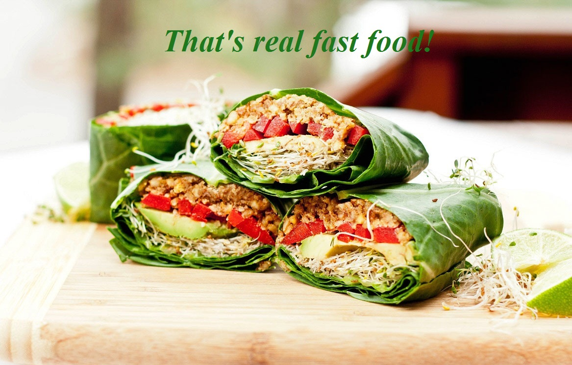 Clean Eating Healthy Fast Food  Cabbage Roll