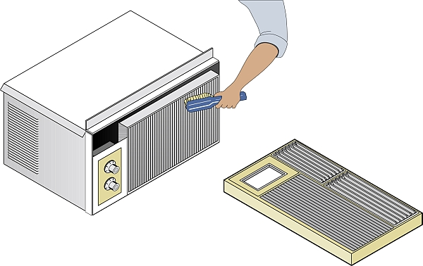 Air Conditioner Air Cleaner : Step by guide on how to clean air conditioner