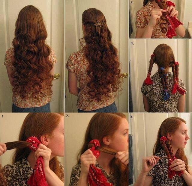 How To Curl Your Hair Without Heat Hirerush Blog