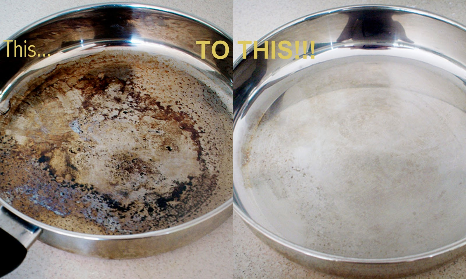 10 tips of kitchen cleaning - Clean burnt grease oven pots pans ...