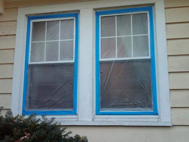 windows painting prep