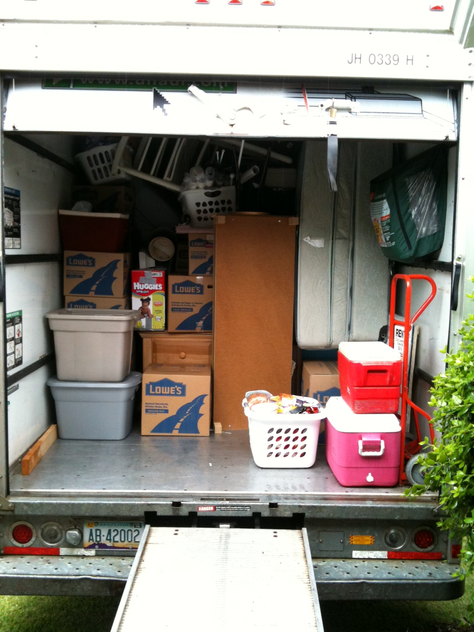 how to pack a moving truck hirerush blog