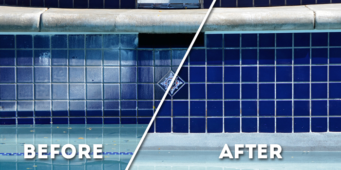 How to clean the pool tile | HireRush Blog