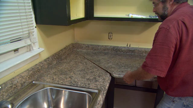 Cutting Laminate Kitchen Countertops