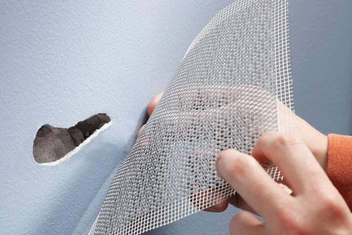 drywall aluminum patch
