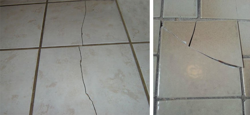 Repairing cracked tile tile design ideas for Cracked bathroom tile repair