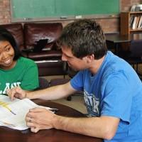 tutor and a girl