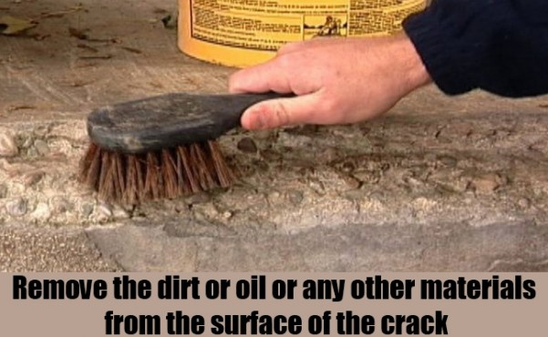 how to fix cracks in concrete