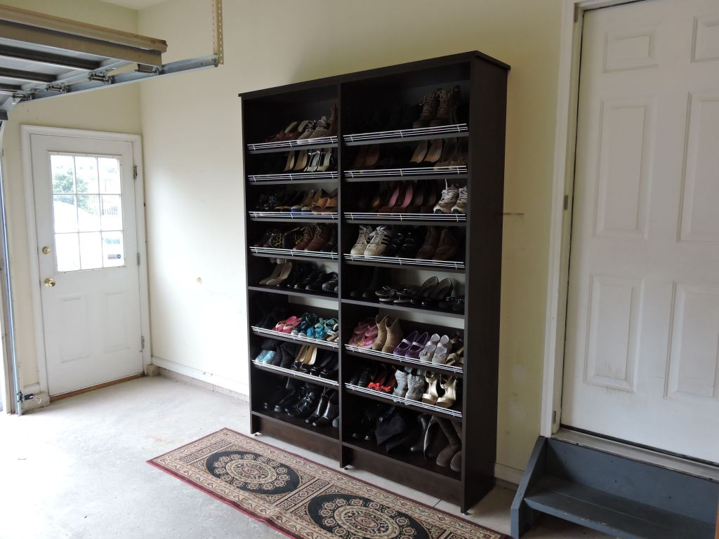 garage shoe organization ideas