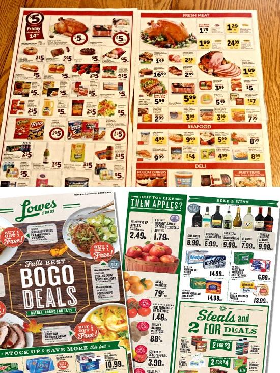 groceries sales ads