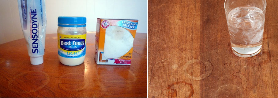 How to get rid of white water stains on wood floors thefloors co - Coffee stains oil stains get rid easily ...