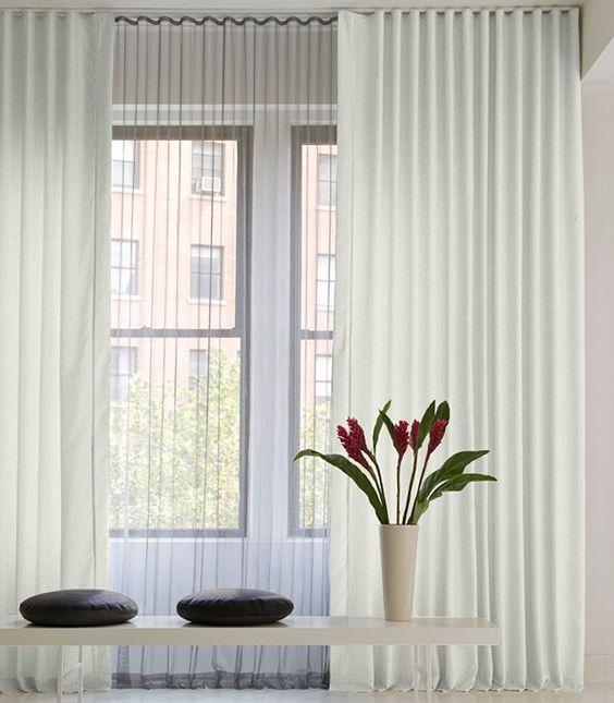 pretty folds on curtains