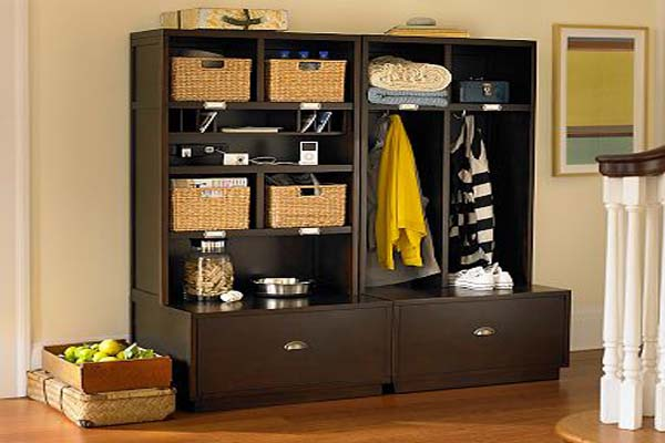 Entry Storage Furniture clever ideas for your entryway storage | hirerush blog