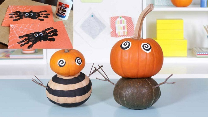 5 fun and easy halloween crafts for kids | HireRush Blog