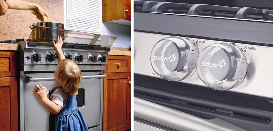 baby proofing stove guard and knob covers
