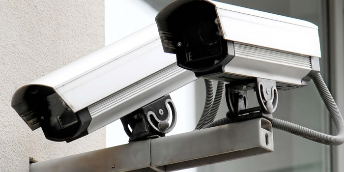 2 surveillance cameras