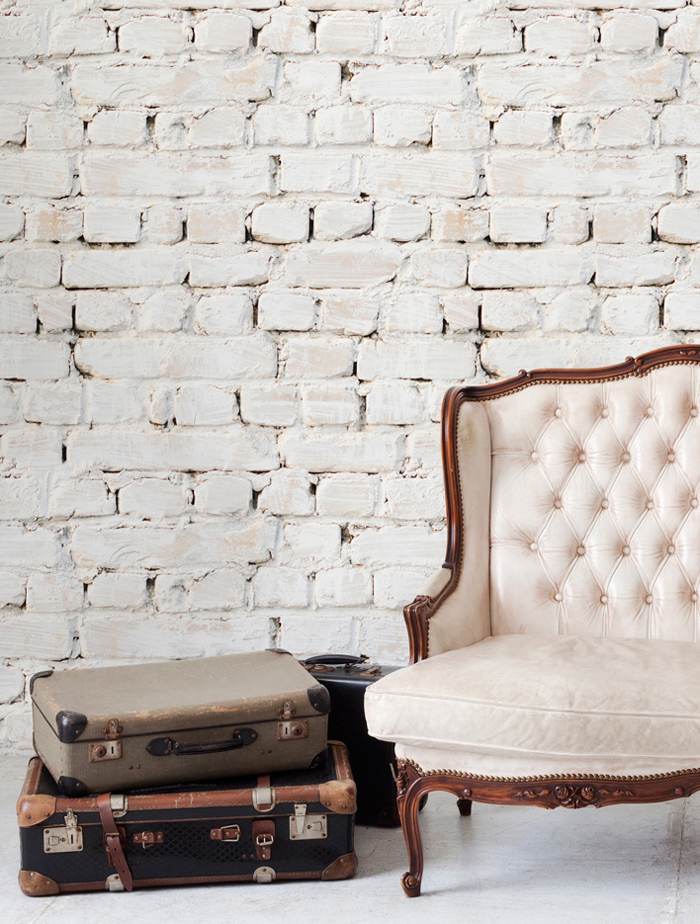 ... faux brick wallpaper - 5 Ways To DIY A Faux Brick Wall HireRush Blog