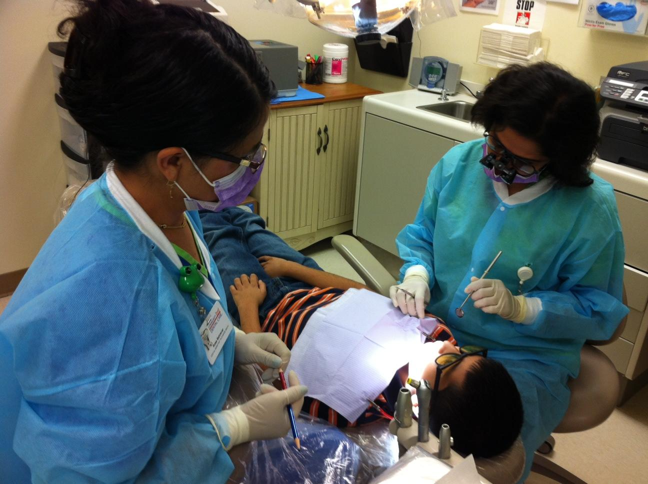 dental school clinic to save money on dental care