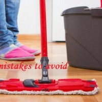 wet mop on hardwood cleaning mistakes