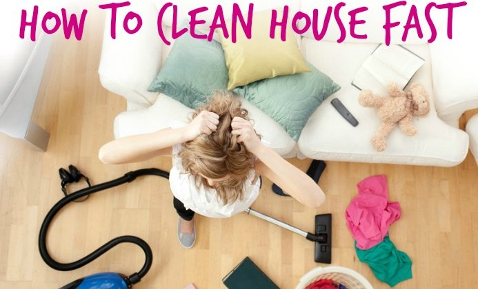 Tips And Hacks To Fake A Clean House In 20 Minutes Or Less