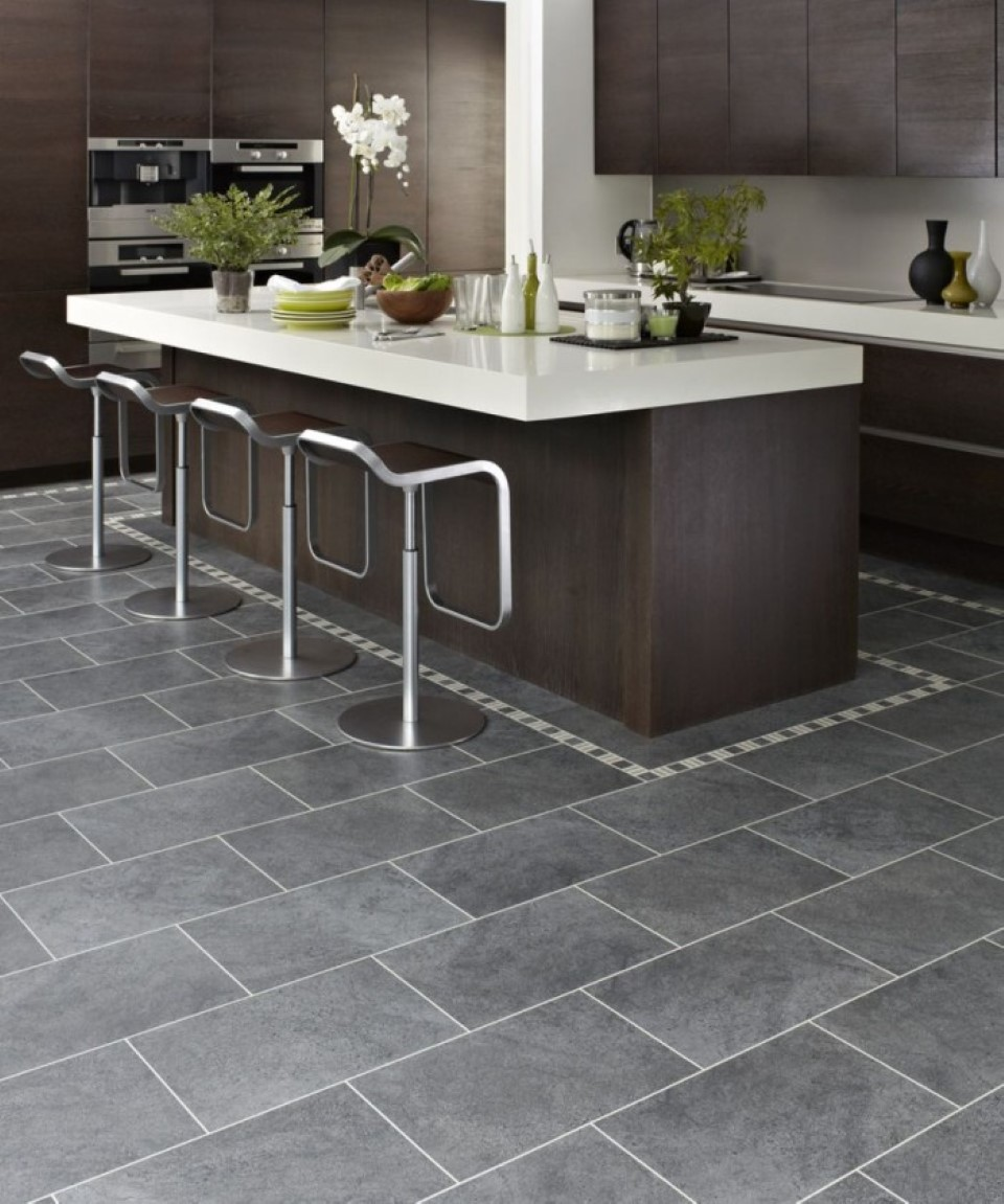 Design Of Tiles For Kitchen: Pros And Cons Of Tile Kitchen Floor