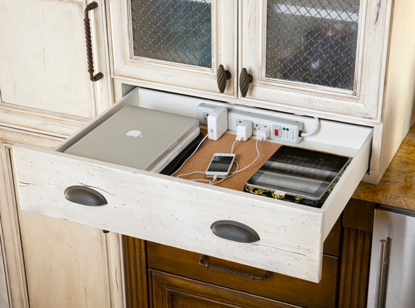 Drawer Charging Station Home Improvement Project