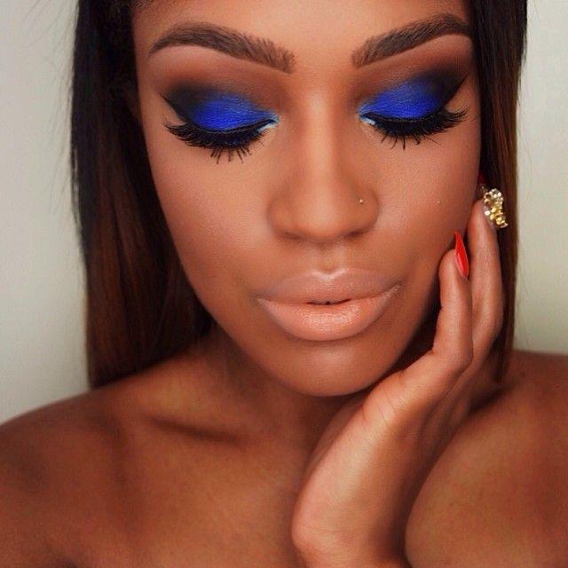 Eye Makeup For Dark Blue Eyes