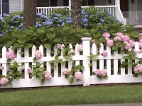 Gorgeous wood fence designs and ideas