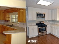 Secret way to refinish kitchen cabinets without stripping